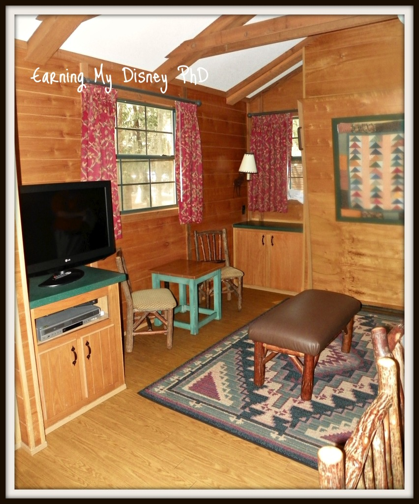 Fort Wilderness Cabins Living Room